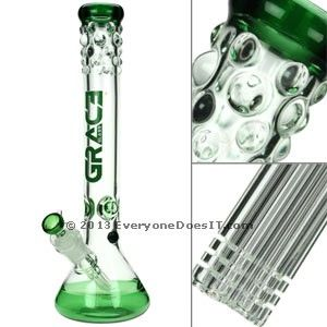 7mm Grace Glass Beaker Bong